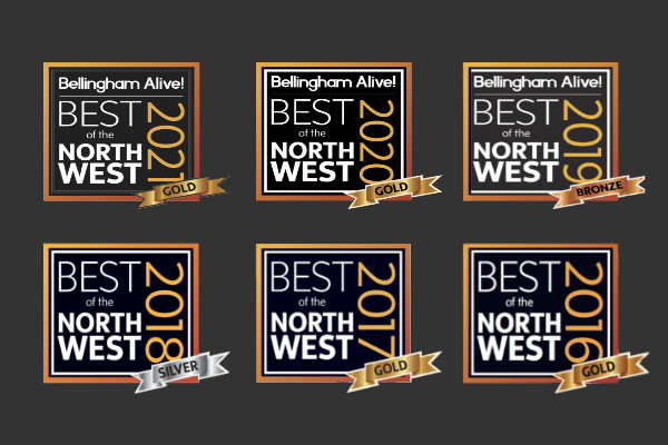 All Best of the Northwest Badges