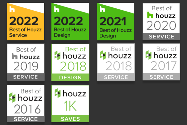All Houzz Badges